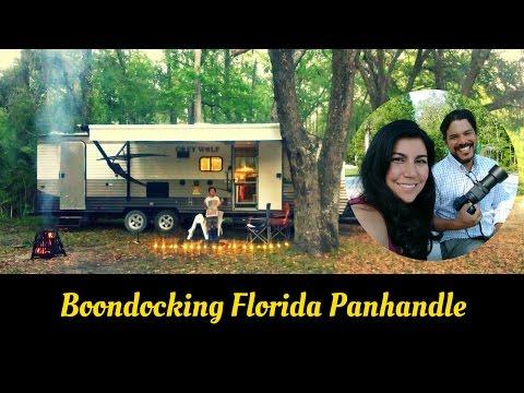 Florida Panhandle Boondocking at Goose Pasture Campground - Full Time RVing