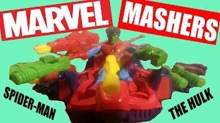 Marvel Super Hero Mashers - Spider-Man and the Hulk with Spider-Man Skycrawler