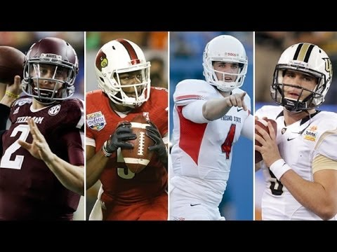 Manziel, Bridgewater, Carr and Bortles | Every Long Completion from 2013