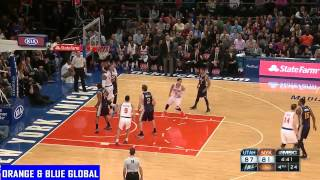 Melo goes 46 & 7, Knicks lose to Jazz at buzzer. 11/14/14