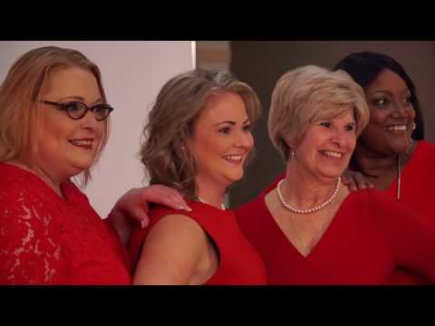 2017 Heart Month: Four red dresses to support women's heart health