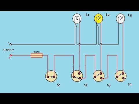 godown wiring how to use godown wirring practical at ati kolkata rh youtube com 30 Amp RV Wiring Diagram Residential Electrical Wiring Diagrams HVAC