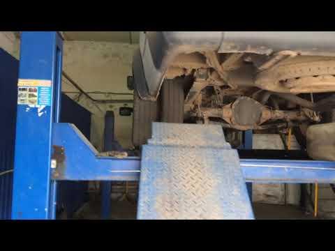 Форд Транзит 2.4D съем бака чистка заборника
