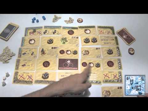 Tuareg juego de mesa rese a aprende a jugar youtube for Viciados de mesa