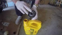How to change your cars oil and oil filter: Jeep patriot