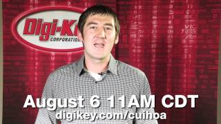 CUI and Digi-Key discuss AMT Encoders in a Google Hangout