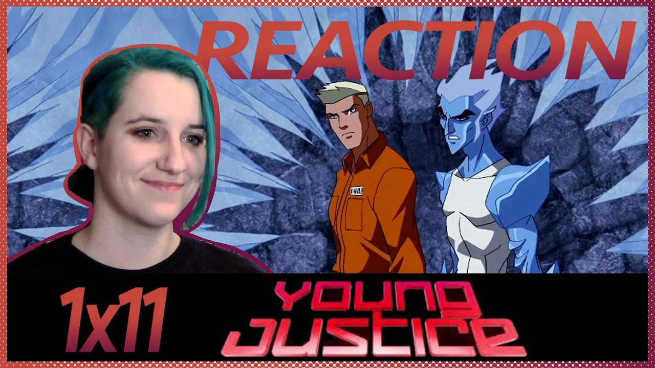 """Download Young Justice 1x11 REACTION """"Terrors"""""""
