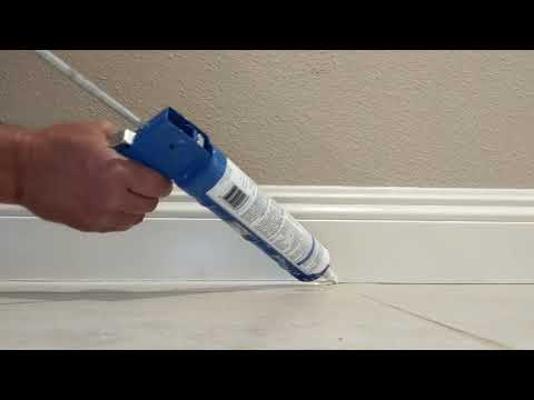 Protect your or your client's MDF Baseboards from water damage