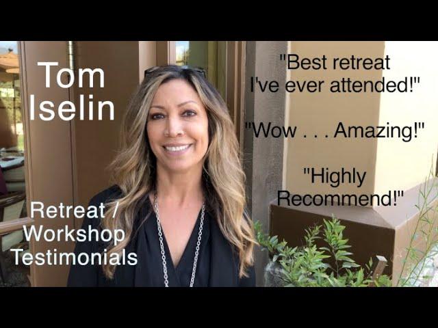 Tom Iselin - Testimonials: Best Board Retreat and Strategic Planning Facilitator