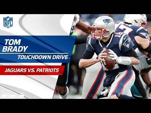 Tom Brady Leads 2 Minute Drill for Big TD vs. Jags! | Jaguars vs. Patriots | AFC Championship HLs