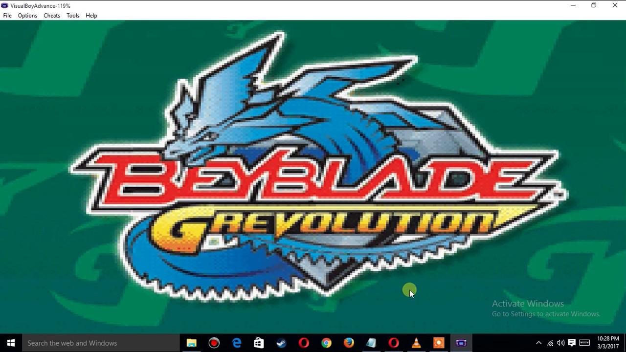 download beyblade g revolution gba rom