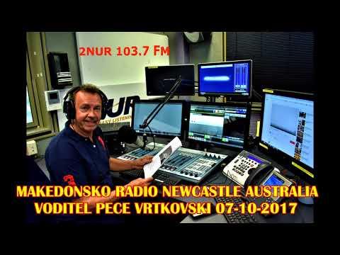 MAKEDONSKO RADIO 2NUR 103.7 FM  NEWCASTLE AUSTRALIA 07-10-2017