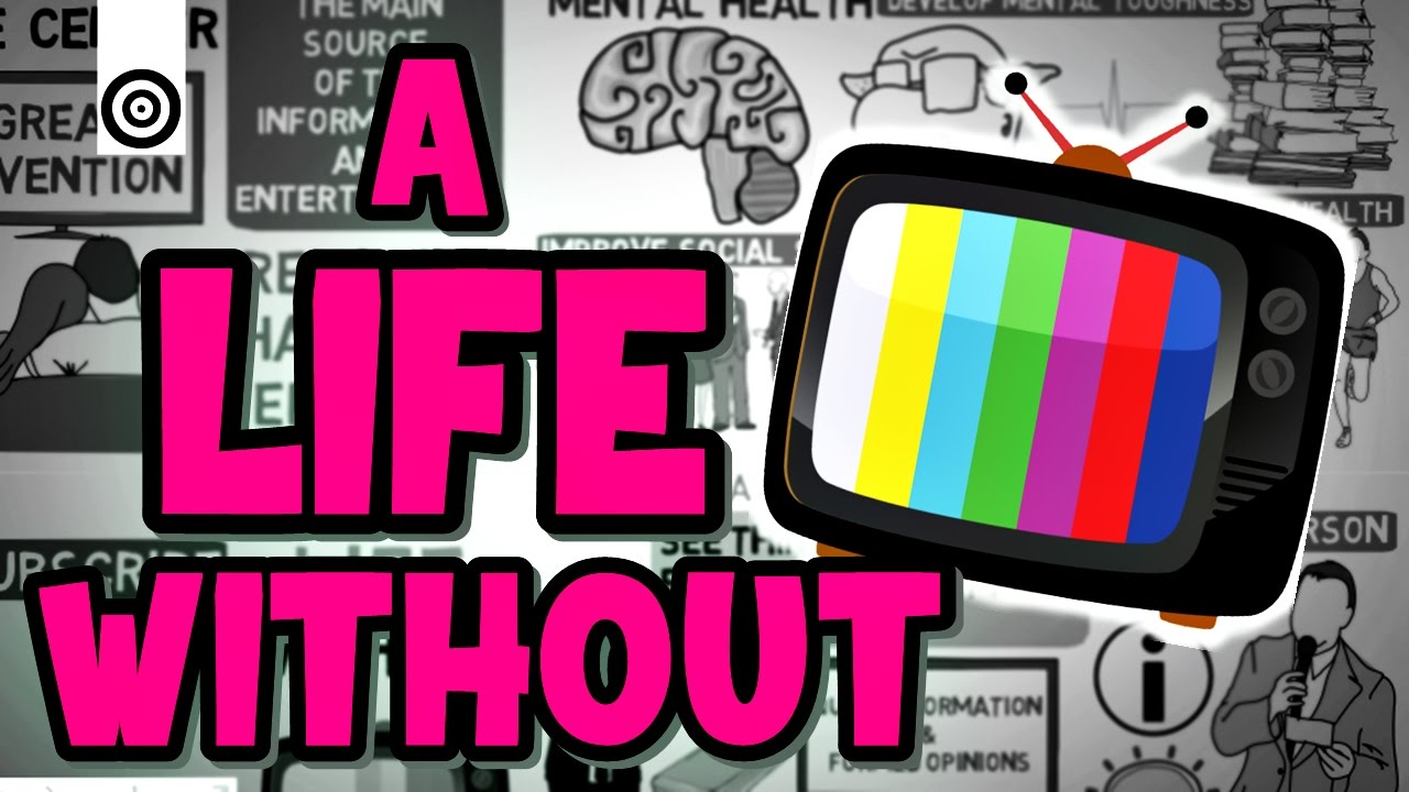 paragraph on life without television