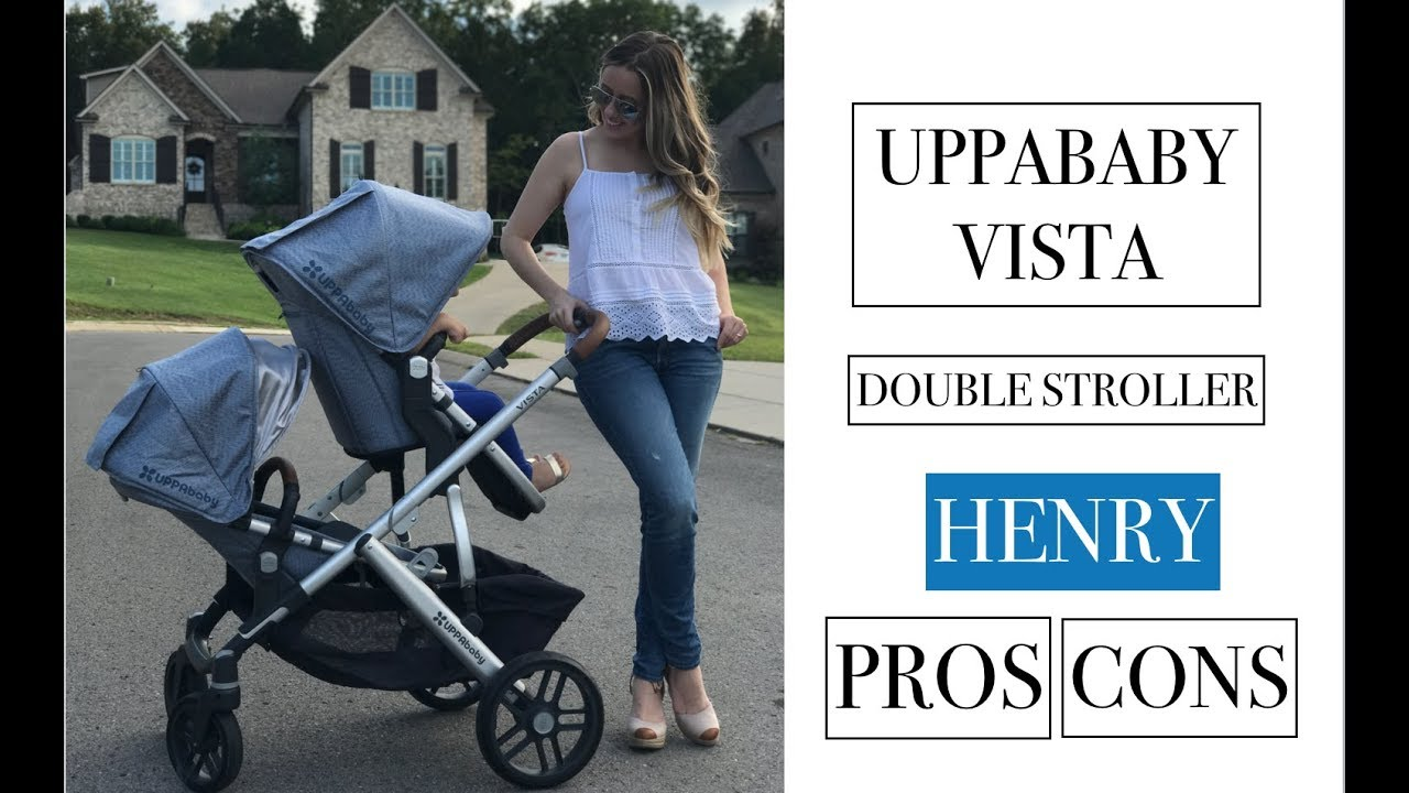 Pros And Cons New Uppababy Vista Double Stroller 2017 Henry