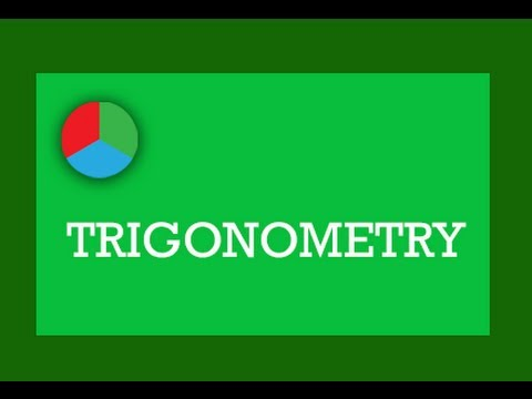 Trigonometry: Lesson 1 (identities-single angle type)