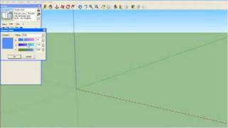 Setting Up A Woodworking Template In Sketchup