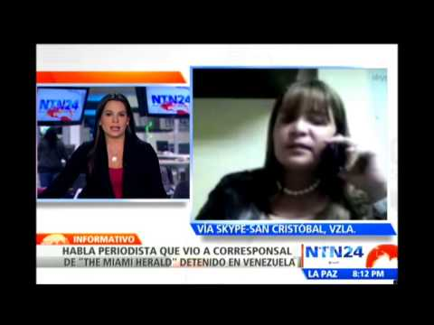 Autoridades venezolanas arrestan a periodista del diario Miami Herald