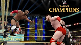 WWE Clash of Champions2016:Cesaro vs. Sheamus (Match 7 in Best of Seven Series)-WWE 2K16 Prediction