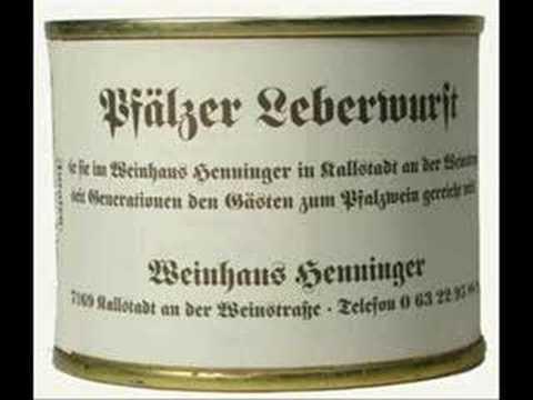 Die anonyme Giddarischde-Lewwerworscht