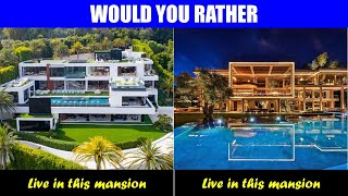 Would You Rather? [Luxury Edition] 10 Insanely HARD Choices
