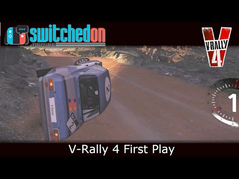 V-Rally 4 (Nintendo Switch) : First Play & Impressions