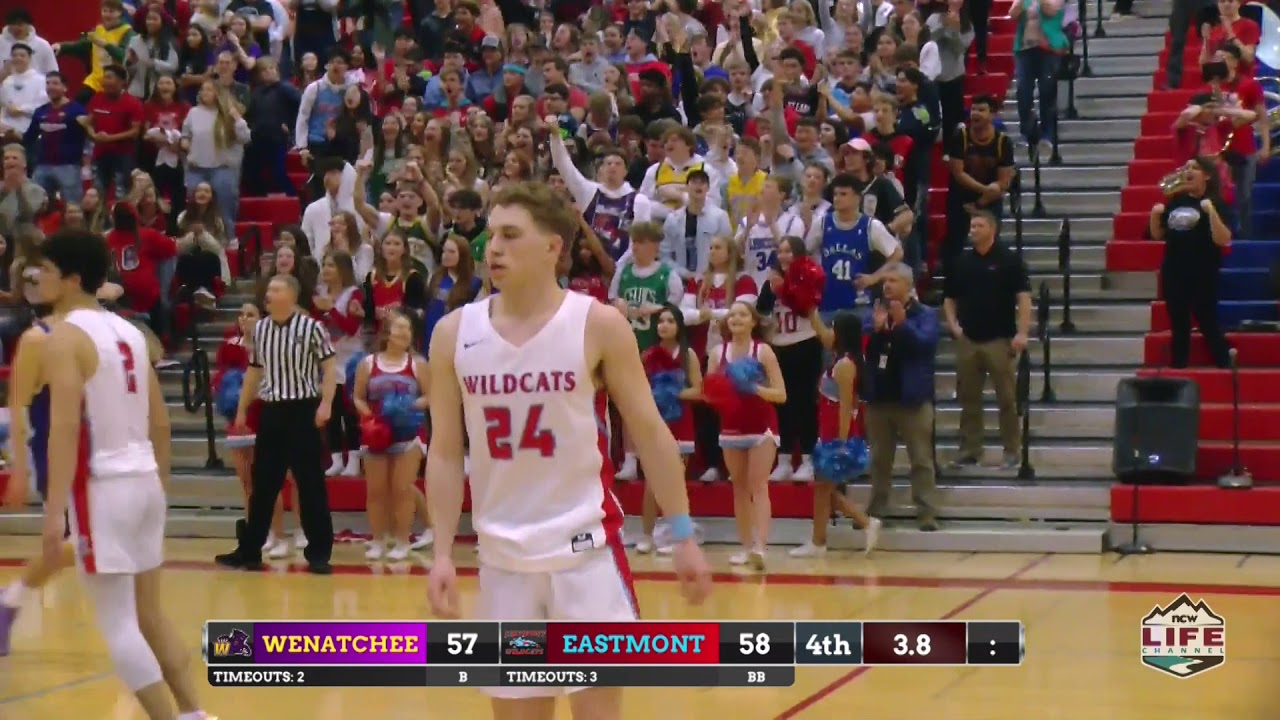 Wenatchee vs Eastmont Basketball Highlights 2020-02-22