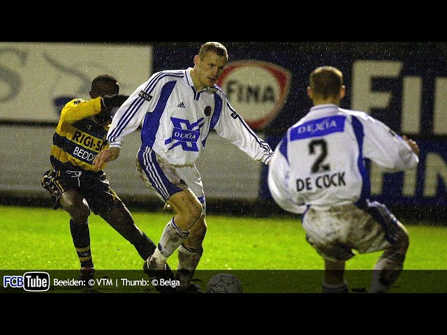 2001-2002 - Jupiler Pro League - 20. SK Beveren - Club Brugge 0-4
