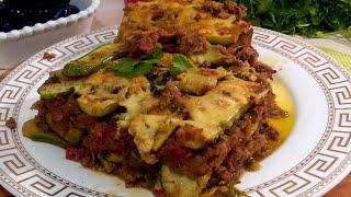 Zucchini Casserole /Рецепт Вкусной запеканки из кабачков с фаршем ,который вам точно понравится