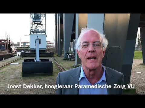 Still uit de video 'Zorg op de Juiste Plek   Joost Dekker'