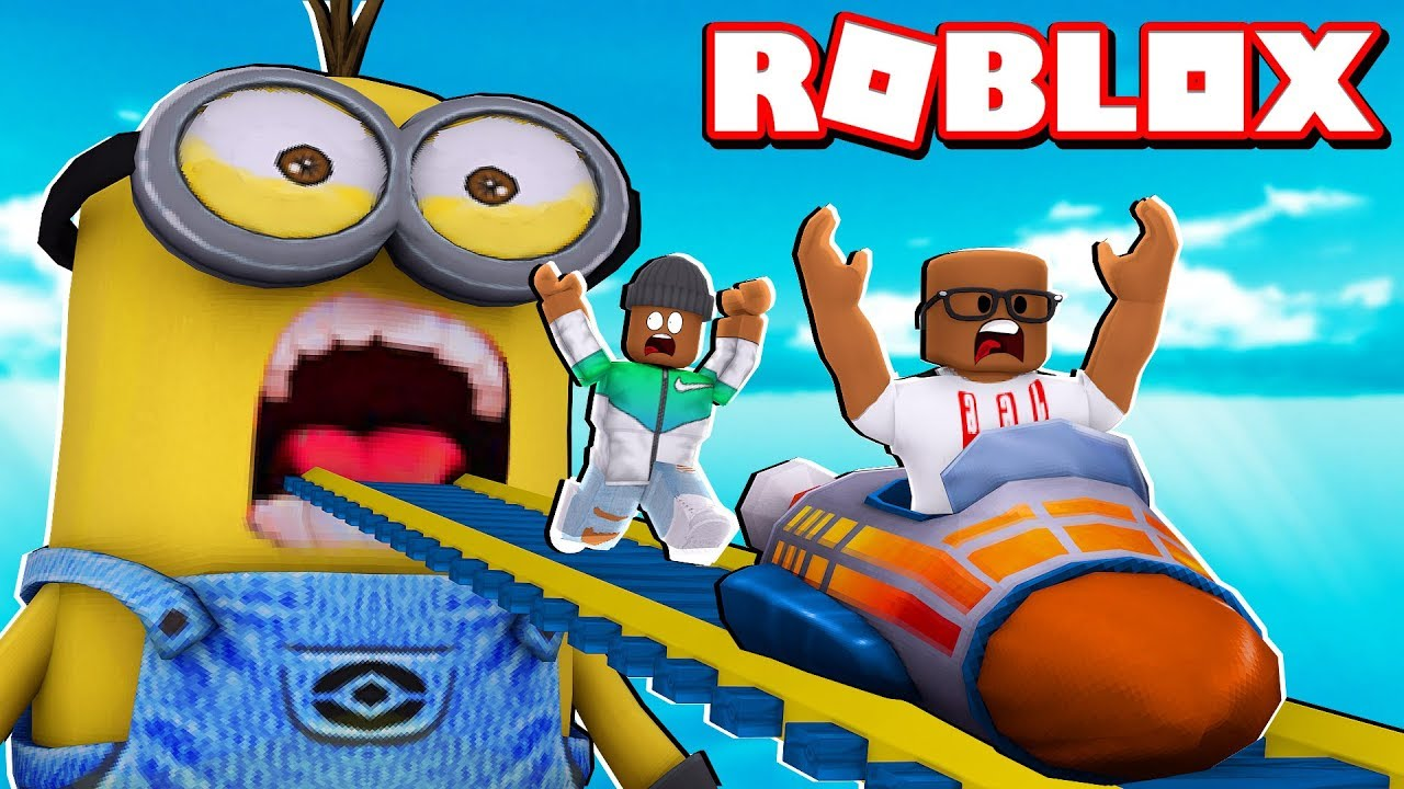 Multiplayer Rocket Cart Ride Into The Minions For Admin In Roblox