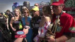 2013 O'Reilly Auto Parts Route 66 NHRA Nationals Race Recap from Route 66 Raceway