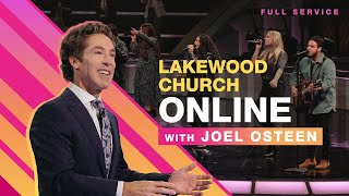 🔴 Joel Osteen LIVE | Lakewood Church | Sunday Service 11am