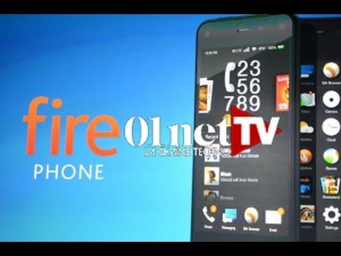 """Les deux effets """"waouh"""" du Fire Phone d"""