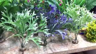 Искусственные растения в салоне аквариумов AquaHouses.ru