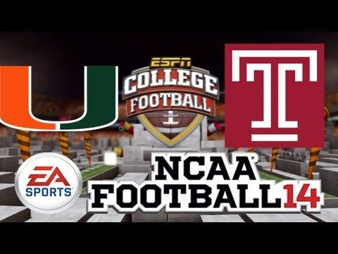 ncaa-football-14-online-ranked-|-miami-vs.-temple
