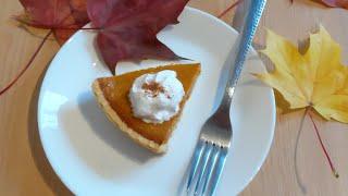 Pumpkin pie 🎃 Delicioso pay de calabaza súper fácil y cremoso . 🎃