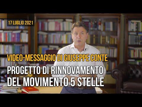 Diretta Giuseppe Conte: presentazione progetto rinnovamento Movimento 5 Stelle