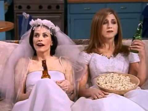 Pheeps Rachel And Monica The Wedding Dresses Youtube