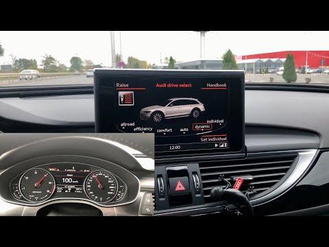 Audi A6 Allroad FL 3.0 BiTDI 0-100 Km/h In Different Modes (Efficiency, Allroad, Comfort, Dynamic)