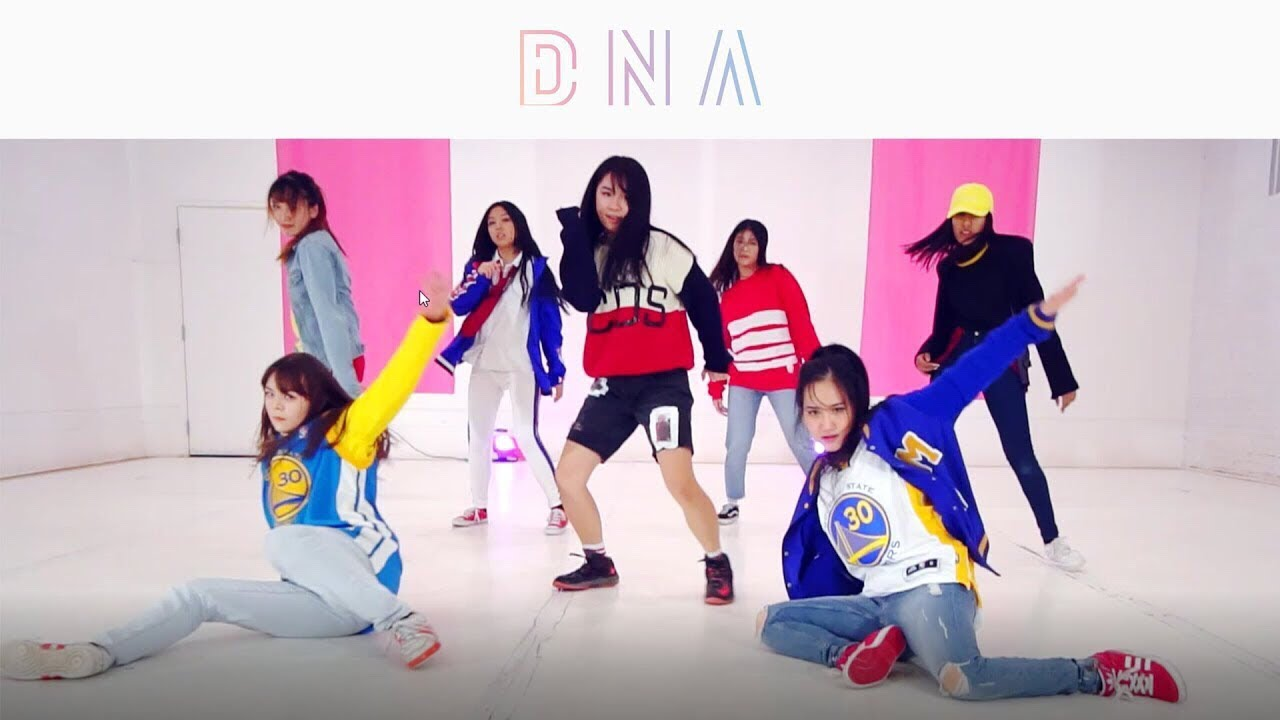 east2west bts dna dance cover girls ver