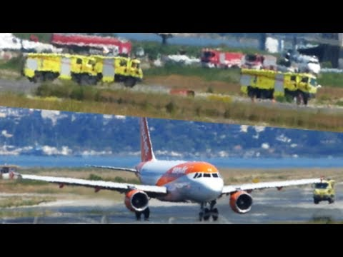 "Emergency landing! Airbus A319 ""Smoke in the cockpit"" 