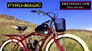 Motorized Bikes and Gas Bikes by U-MOTO