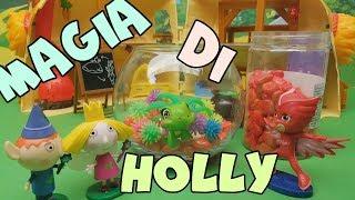 L'acquario magico di Ben e Holly la Fatina - Episodio per Bambini Con Giocattoli In Italiano