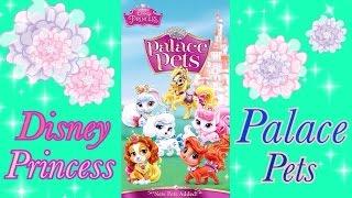 【Palace Pets】米国限定の大ヒット中のディズニーアプリ!プリンセスのペット育成☆