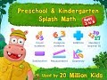 Preschool & Kindergarten Splash Math games. Learn counting skills, addition and subtraction