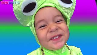 5 Little Speckled Frogs| Part 2 | Nursery Rhymes | Songs  for Kids | Easy Subtraction