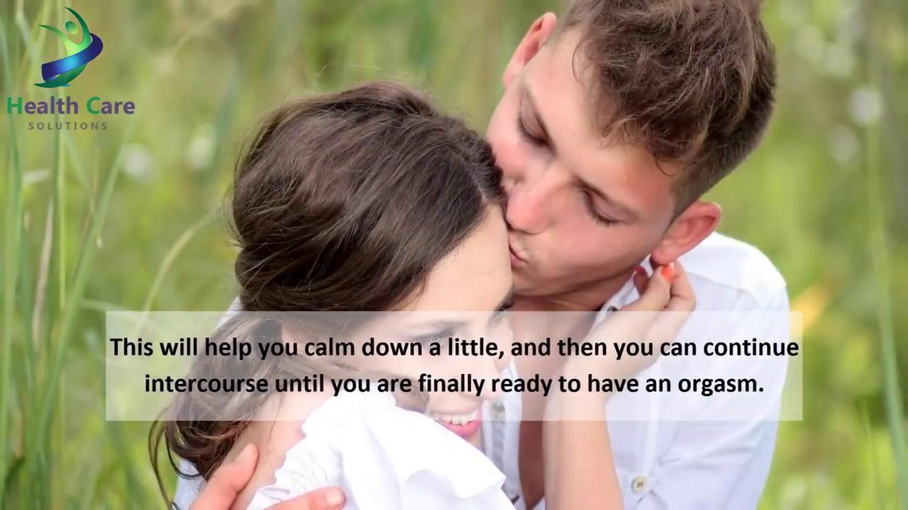 how to make ejaculation last longer