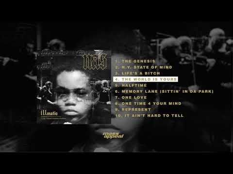 Nas  The World Is Yours  HQ Audio