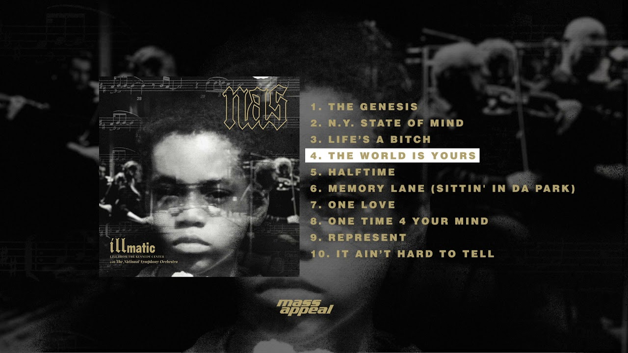 Nas - The World Is Yours (Live) [HQ Audio]