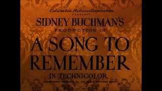 Video A Song to Remember (1945) 1 - Polonaise 'Héroïque'' - Etude n°3 'Tristesse' download MP3, 3GP, MP4, WEBM, AVI, FLV Mei 2018
